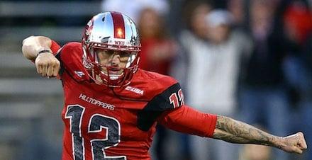WKU quarterback Brandon Doughty leads the WDRB all-Kentuckiana offense.