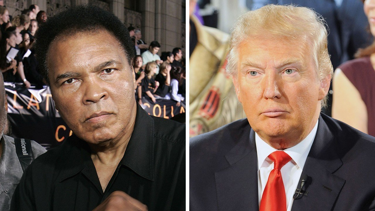 Ali issues statement denouncing Trump's statements about Muslims