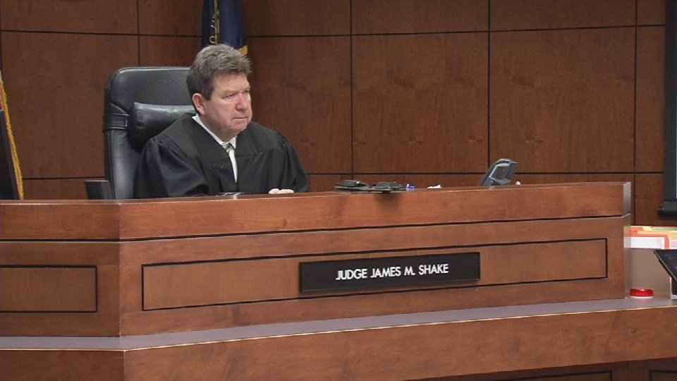 Jefferson Circuit Judge James Shake on Nov. 4, 2015 (WDRB News)