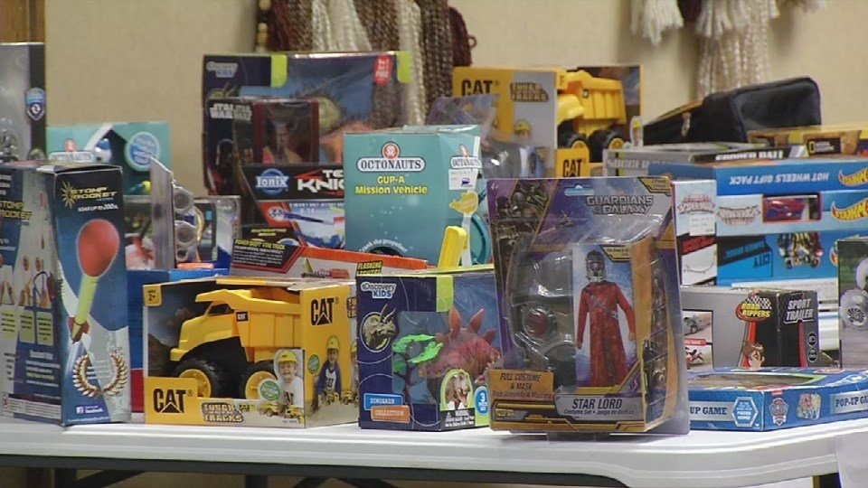"""Wayside Mission's Miracle on Broadway allows parents with limited means to """"shop"""" for toys for their children."""