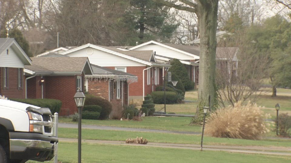 Police say a man was caught peeking through the windows of a home on the streetSunday night.They say the owner confronted him in the backyard.