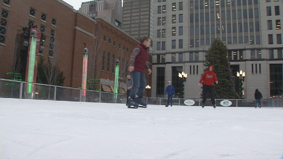 City officials say the ice rink in Louisville was a success overall and they already have plans to bring it back again next year.