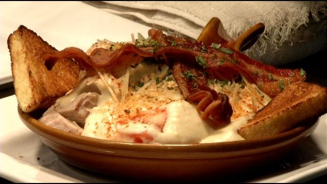 A version of the traditional Hot Brown.
