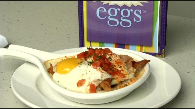 A twist on the hot brown served at Wild Eggs.