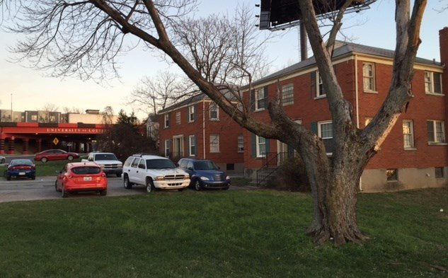 The University of Louisville Foundation bought the apartment buildings at 302 Eastern Parkway