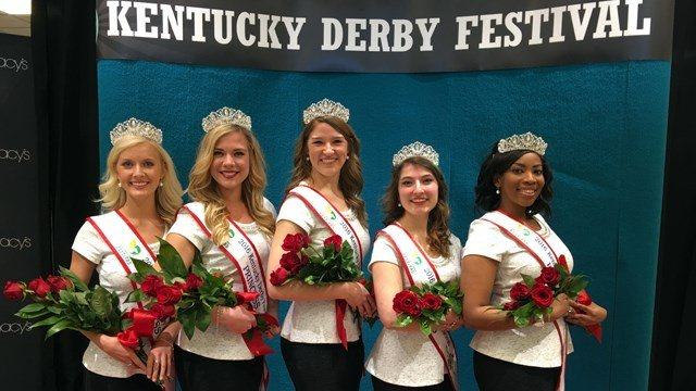 Pictured from left to right: Adrienne Poole, Madison Orman, Stephanie Dooper, Andi Dahmer and Millicent Cahoon.
