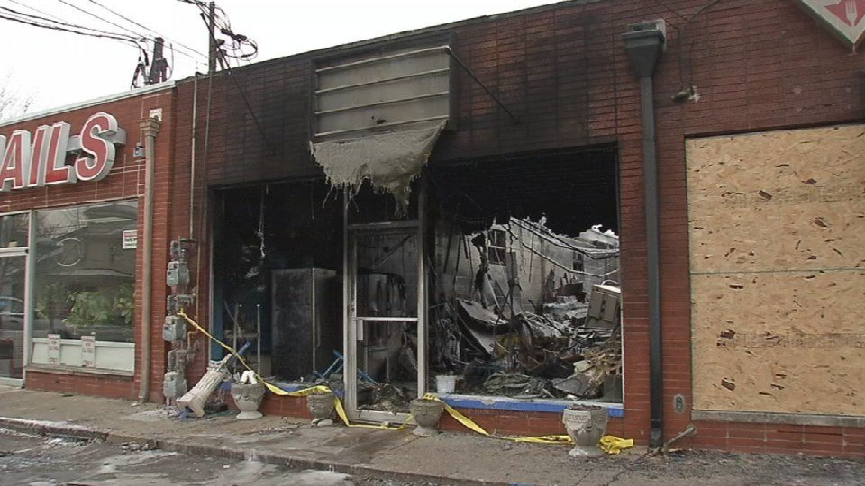 There are still questions about exactly what sparked a Sunday morning fire that set two St. Matthews businesses ablaze.