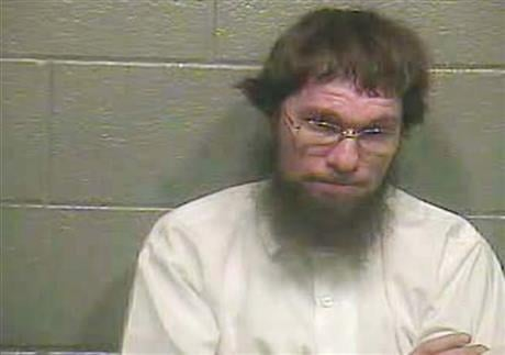 In this undated photo made available by the Barren County Sheriff's Office, shows Samuel Borntreger. He is currently living in Kentucky. (Barren County Sheriff's Office via AP)