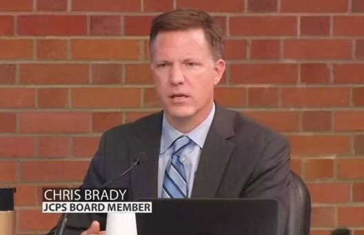 JCPS school board member Chris Brady