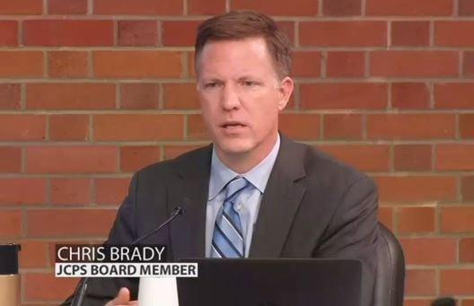 JCPS school board member Chris Brady