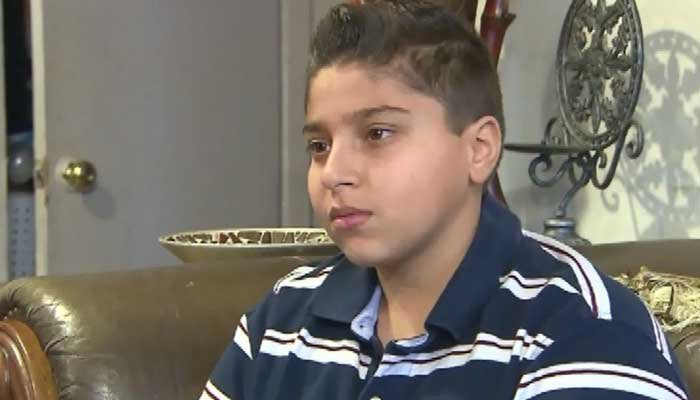 Nashawn Uppal, admits he said something he shouldn't have, but he said he was only defending himself against a bully. (Source: CNN)