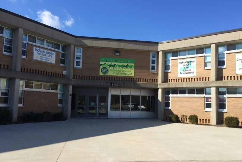 Minors Lane Elementary School (Photo by Toni Konz, WDRB News)