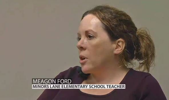 Meagon Ford, kindergarten teacher at Minors Lane Elementary School (WDRB News file photo)