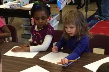 A kindergarten class at Minors Lane Elementary School (WDRB file photo from January 2015)