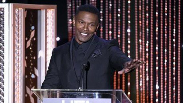 In this Nov. 1, 2015 file photo, Jamie Foxx presents the Hollywood actor award at the Hollywood Film Awards at the Beverly Hilton Hotel. (Photo by Chris Pizzello/Invision/AP, File)