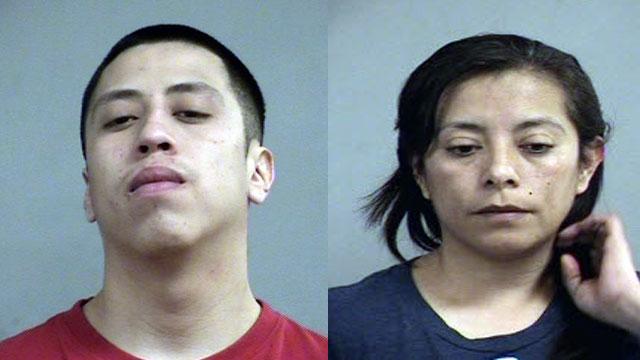 Juan Lopez and Maria Delpilar Garcia-Rodriguez (source: Louisville Metro Corrections)