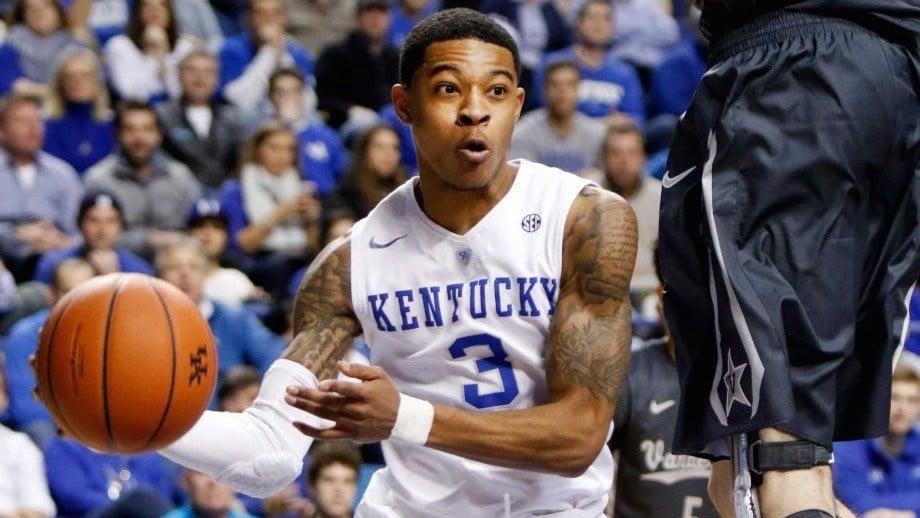 Kentucky's Tyler Ulis. AP photo