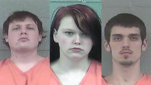 William Wright, Anna Coffman and John Nichols (Source: Bullitt County Detention Center)