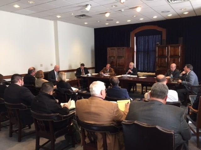 The Kentucky Communications Network Authority met Thursday, Jan. 28, in Frankfort.