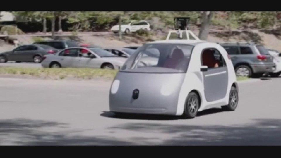 Another version of the driverless car