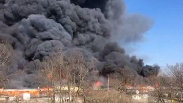 (Photo courtesy of the Lexington Fire Department)