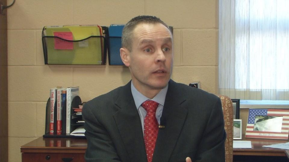 JCPS Chief Operations Officer Michael Raisor