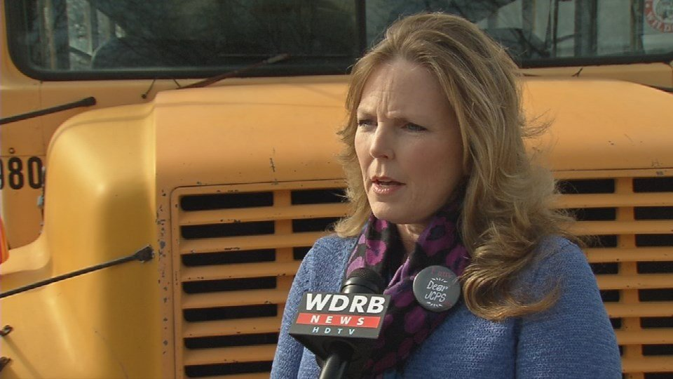 Gay Adelmann, JCPS parent and co-founder of Dear JCPS (WDRB photo)