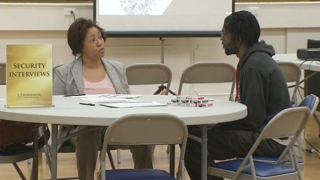 On Tuesday, Feb. 2, Louisville partnered with Horseshoe Casino to host a job fair.