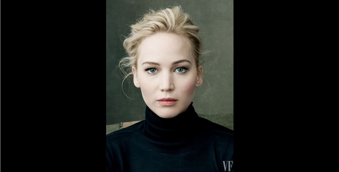 Jennifer Lawrence in a photograph by Annie Leibovitz for Vanity Fair.