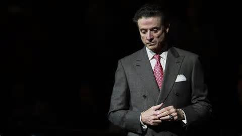 Former University of Louisville basketball coach Rick Pitino