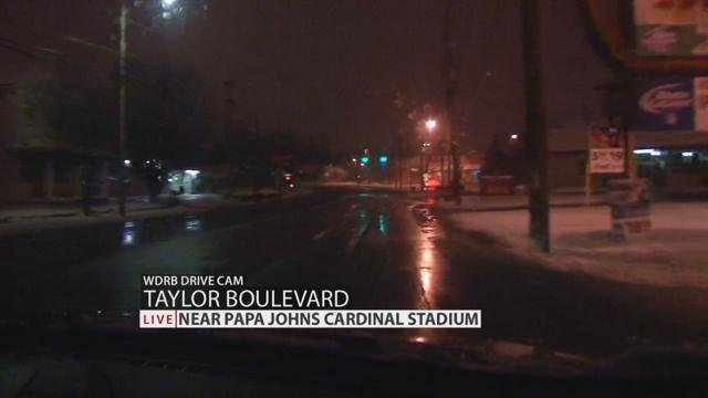 Taylor Blvd. near Papa Johns Cardinal Stadium