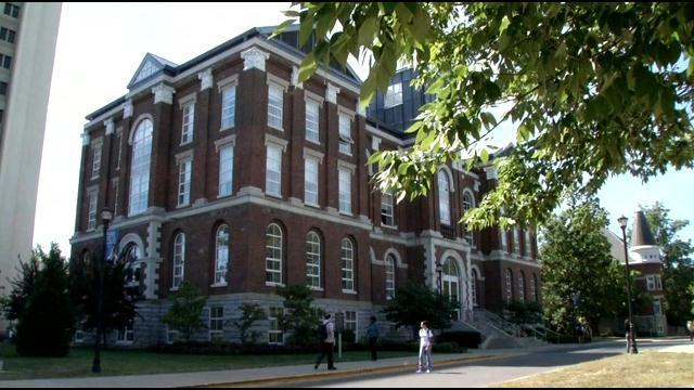 The University of Kentucky campus in Lexington