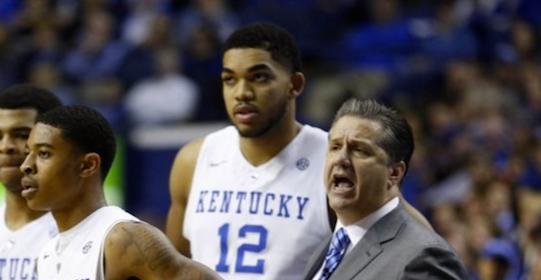 The play of Tyler Ulis (left) and Karl-Anthony Towns stirs questions about Kentucky basketball.