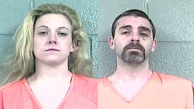 Kelly Hensley and Jonathan Knauer (Source: Bullitt County Detention Center)