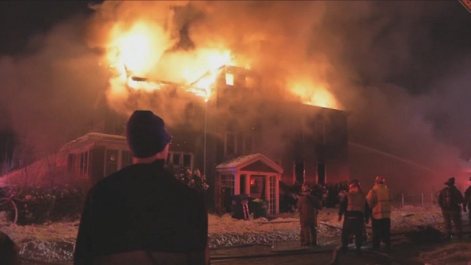 Fire in Buffalo, New York kills two