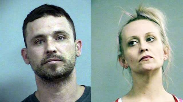 James T. Armstrong and Brandice Wright (Source: Louisville Metro Corrections)