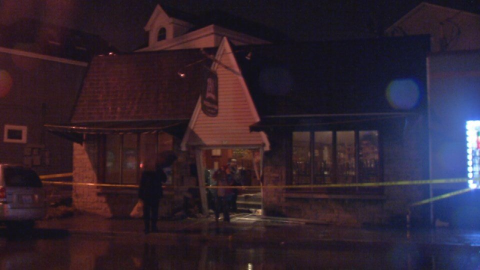 While the driver caused more than $10,000 in damage, the store's owner says he's just glad no one was hurt.
