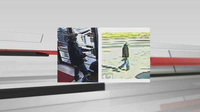 Police say these surveillance photos show the suspects in the shooting.