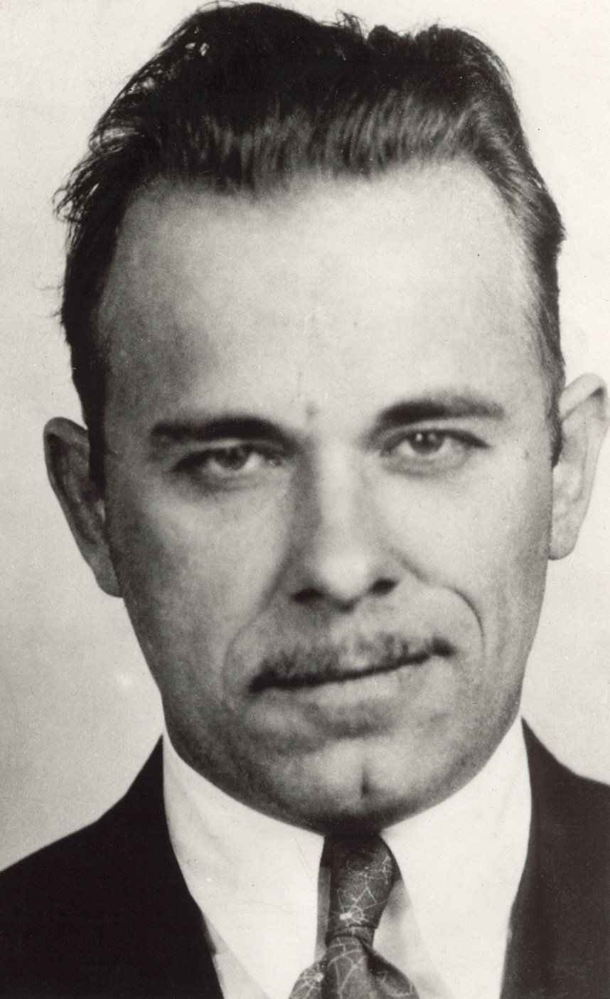 John Dillinger's FBI photo.