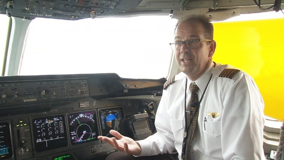 """""""I don't have to write it down, I don't have to type it in -- potential human errors --the more that can be done automated the less likely for a navigation error,"""" said Captain Gregg Kastman, a UPS pilot."""