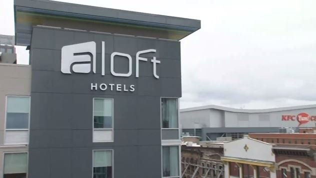 The Aloft Hotel at 1st and Main streets opened in November 2015