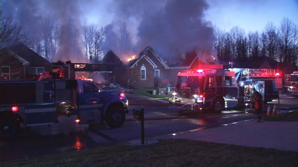 Fire Destroys 2 Southern Indiana Homes Families Saved