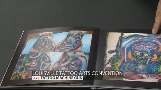 Louisville tattoo arts convention returns april 1 3 wdrb for Louisville tattoo convention
