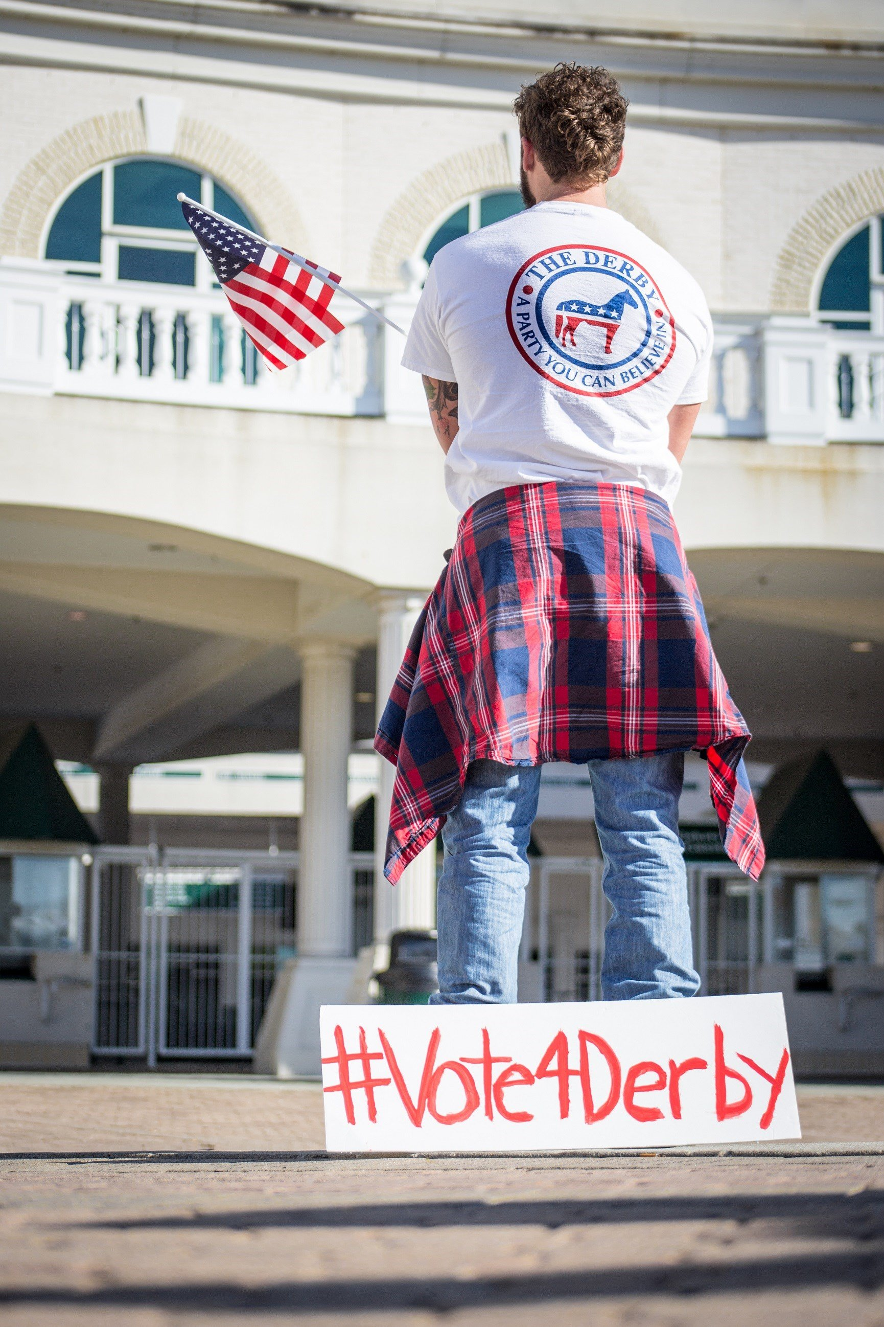 Shirt design louisville ky - Louisville Ky Wdrb The Kentucky Derby Only Falls In A Presidential Election Year Every Four Years