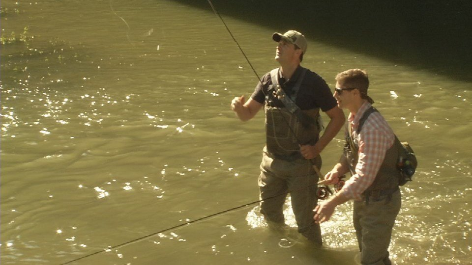 Casting for recovery hosts fly fishing clinic to raise for Fly fishing kentucky
