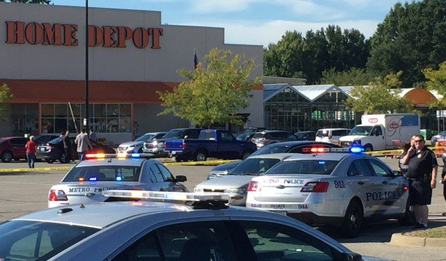 Home Depot Parking Lots : Man found shot in parking lot of home depot on dixie