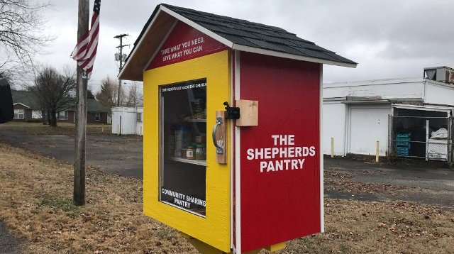 Food pantries built by Shepherdsville pastor to be placed at are ...