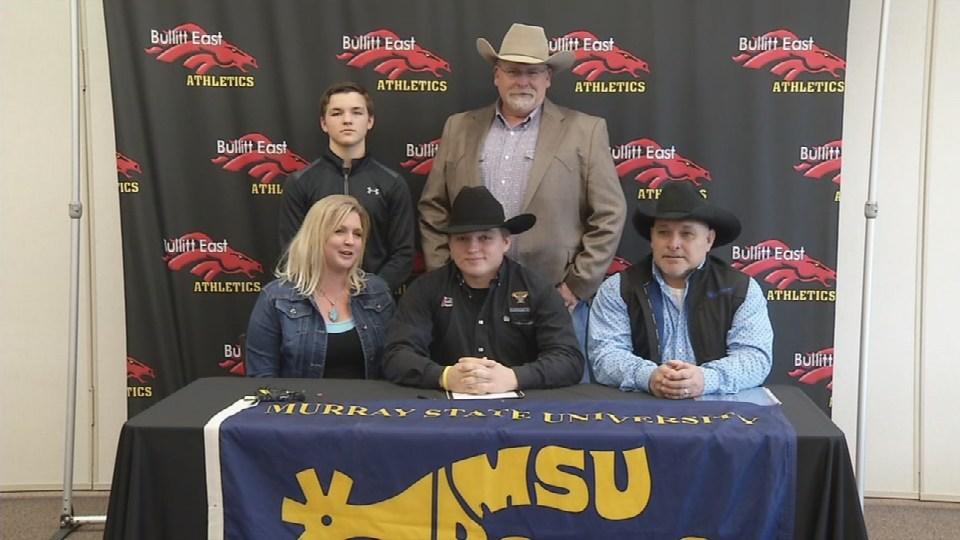 Bullitt East High School Senior Signs With Murray State