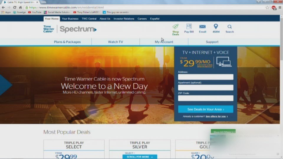 Spectrum Says Customers Can Keep Time Warner Prices Wdrb