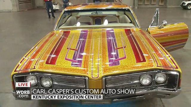 Carl Casper Custom Auto Show Bids Farewell With Grand Finale Feb - Carl casper car show 2018 louisville ky